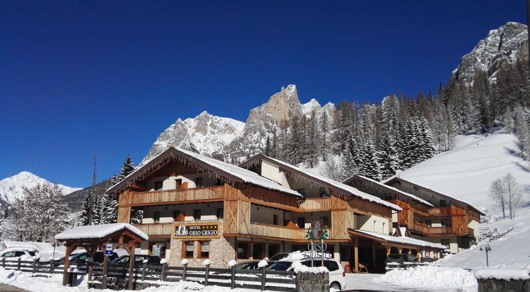 Hotel orso grigio selva di cadore for Cabina di montagna grande orso